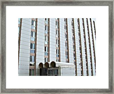 Framed Print featuring the photograph Warehousing by MJ Olsen