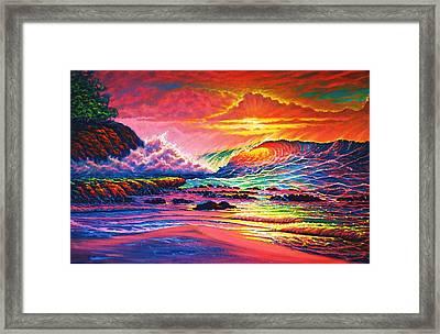 Warm Glow Framed Print by Joseph   Ruff