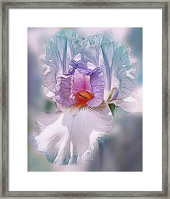 Framed Print featuring the digital art Warm Hearted by Mary Almond