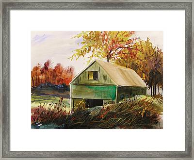 Warm Mood Framed Print by John Williams