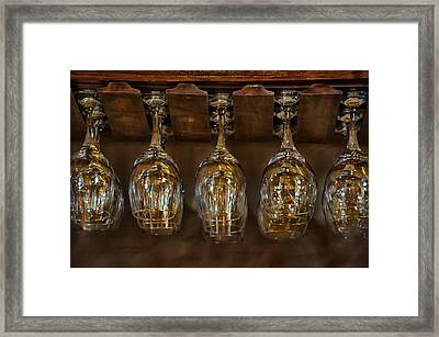 Warm Reflections Framed Print