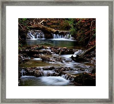 Warm Springs Framed Print by Karen Harrison