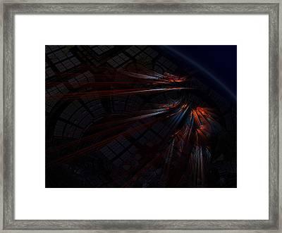 Warp 8 Framed Print by Nafets Nuarb