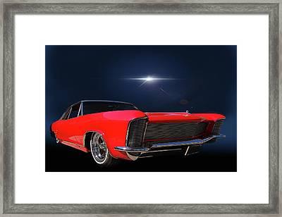 Warp Speed Framed Print by Bill Dutting