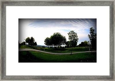 Framed Print featuring the photograph Warped  by Danielle  Parent