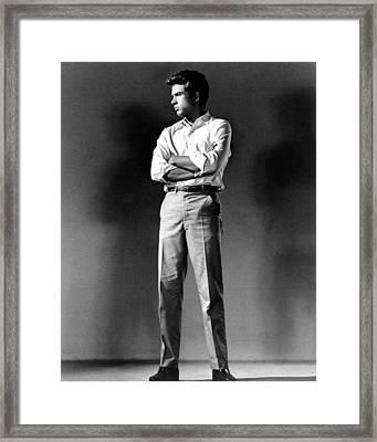 Warren Beatty, Publicity Shot For All Framed Print
