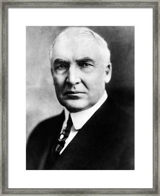 Warren G. Harding 1865-1923, United Framed Print