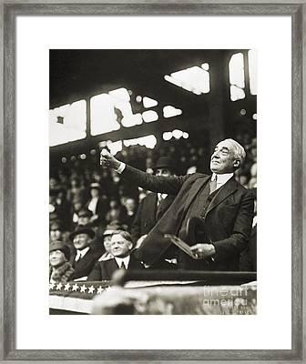 Warren G. Harding Framed Print