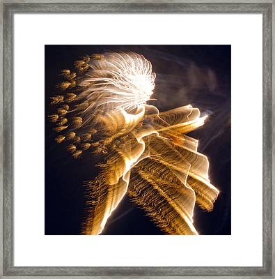 Warrior In The Night Framed Print by Dean Bennett