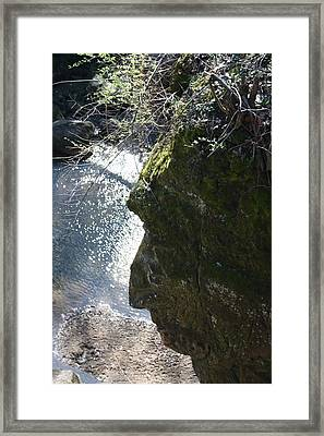 Warrior Rock Framed Print