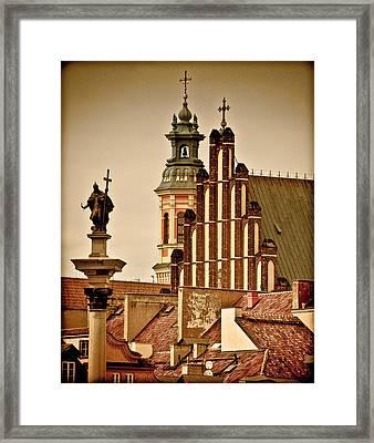Warsaw Framed Print