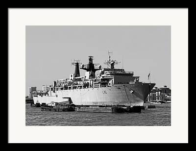 Assault Ships Framed Prints