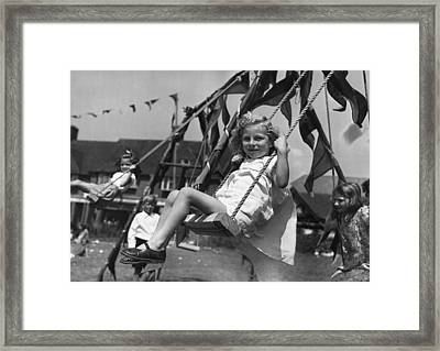Wartime Holiday Framed Print
