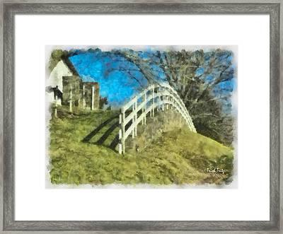 Warwick's Curve Framed Print by Trish Tritz
