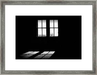 Was A Simple Life Framed Print by Shirley Sirois