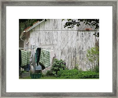 Wash Day Framed Print by Todd Sherlock