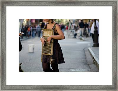 Washboards  Framed Print by Jessica Brooks