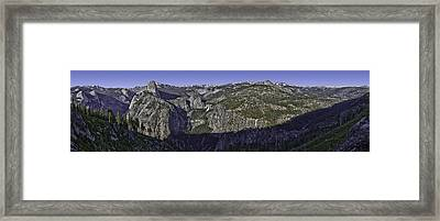 Washburn Point Outlook Framed Print by Nathaniel Kolby