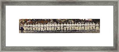Washington Baseball Framed Print by Charles Shoup