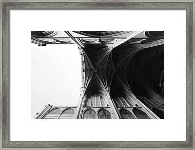 Washington Cathedral Unfinished Nave Framed Print
