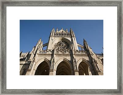 Washington National Cathedral Entrance Framed Print