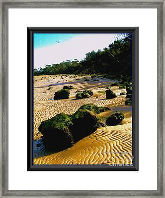 Waste Land Framed Print