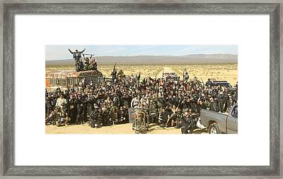 Wasteland Weekend 2010 Framed Print by Adam Chilson