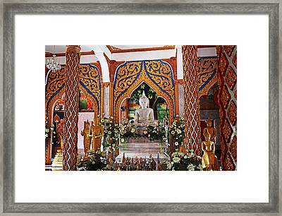 Wat Chalong 4 Framed Print by Metro DC Photography
