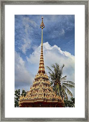 Wat Chalong 5 Framed Print