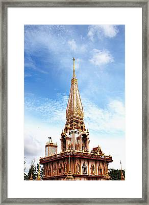 Wat Chalong 6 Framed Print by Metro DC Photography