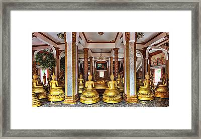 Wat Chalong Framed Print by Metro DC Photography