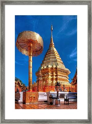 Wat Phrathat Doi Suthep Framed Print