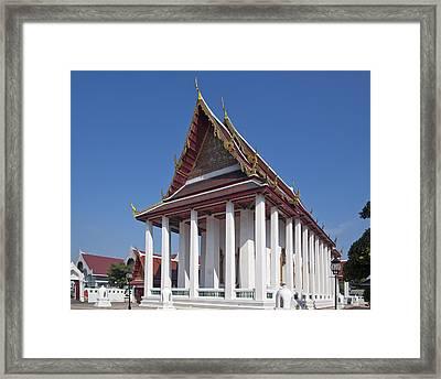 Wat Thewarat Kunchorn Ubosot Dthb1297 Framed Print by Gerry Gantt