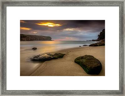 Watamolla Dreamtime Framed Print by Mark Lucey