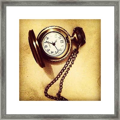 #watches #gold #bronze #steampunk Framed Print