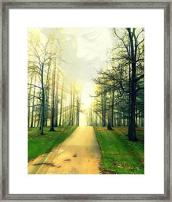Framed Print featuring the photograph Watching Over Us by Mark J Seefeldt