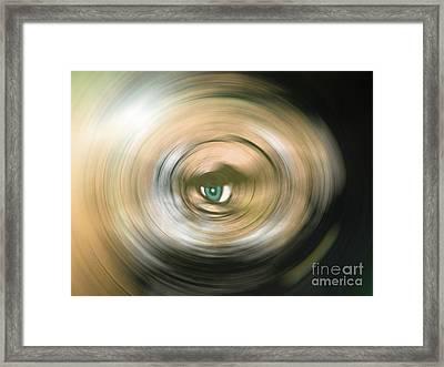Watching You Framed Print by Bruno Santoro