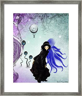 Watching You Framed Print by Charlene Zatloukal
