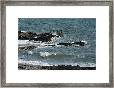 Water 0002 Framed Print by Carol Ann Thomas