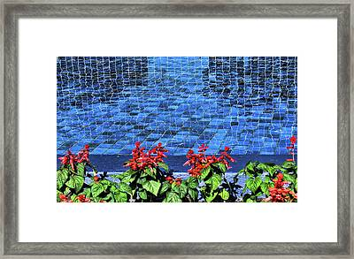Water And Mirrors Framed Print