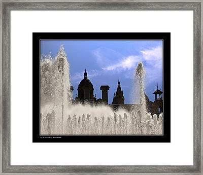 Framed Print featuring the photograph Water And Shadows by Pedro L Gili