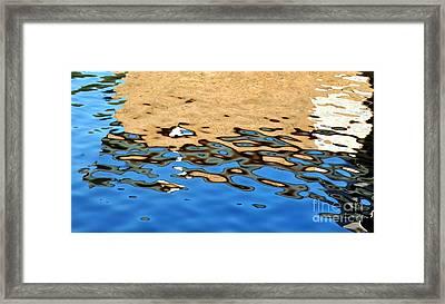 Water Art Framed Print by Kaye Menner