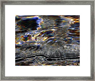 Water As Prism Framed Print