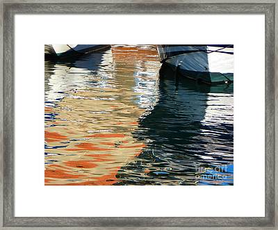 Water Ballet Framed Print by Randy Sprout