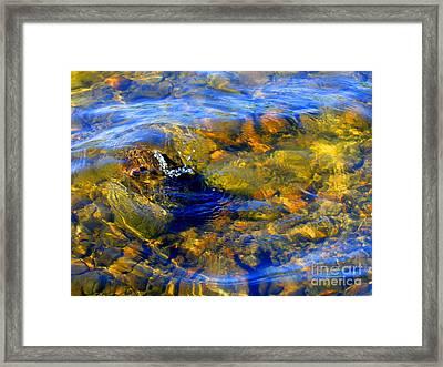 Water Circle Framed Print