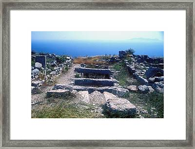 Water Cistern Framed Print by Andonis Katanos