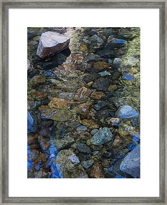Water Colors Framed Print by Cheryl Perin