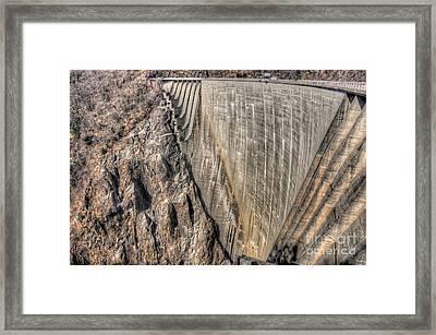 Water Dam Framed Print by Mats Silvan