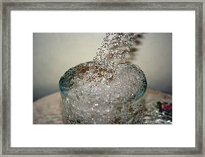 Water Faucet Framed Print by Ester  Rogers