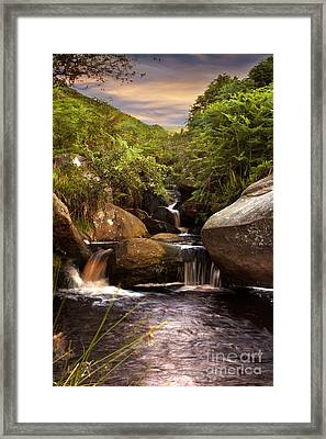 Water Is Life Framed Print by Nigel Hatton